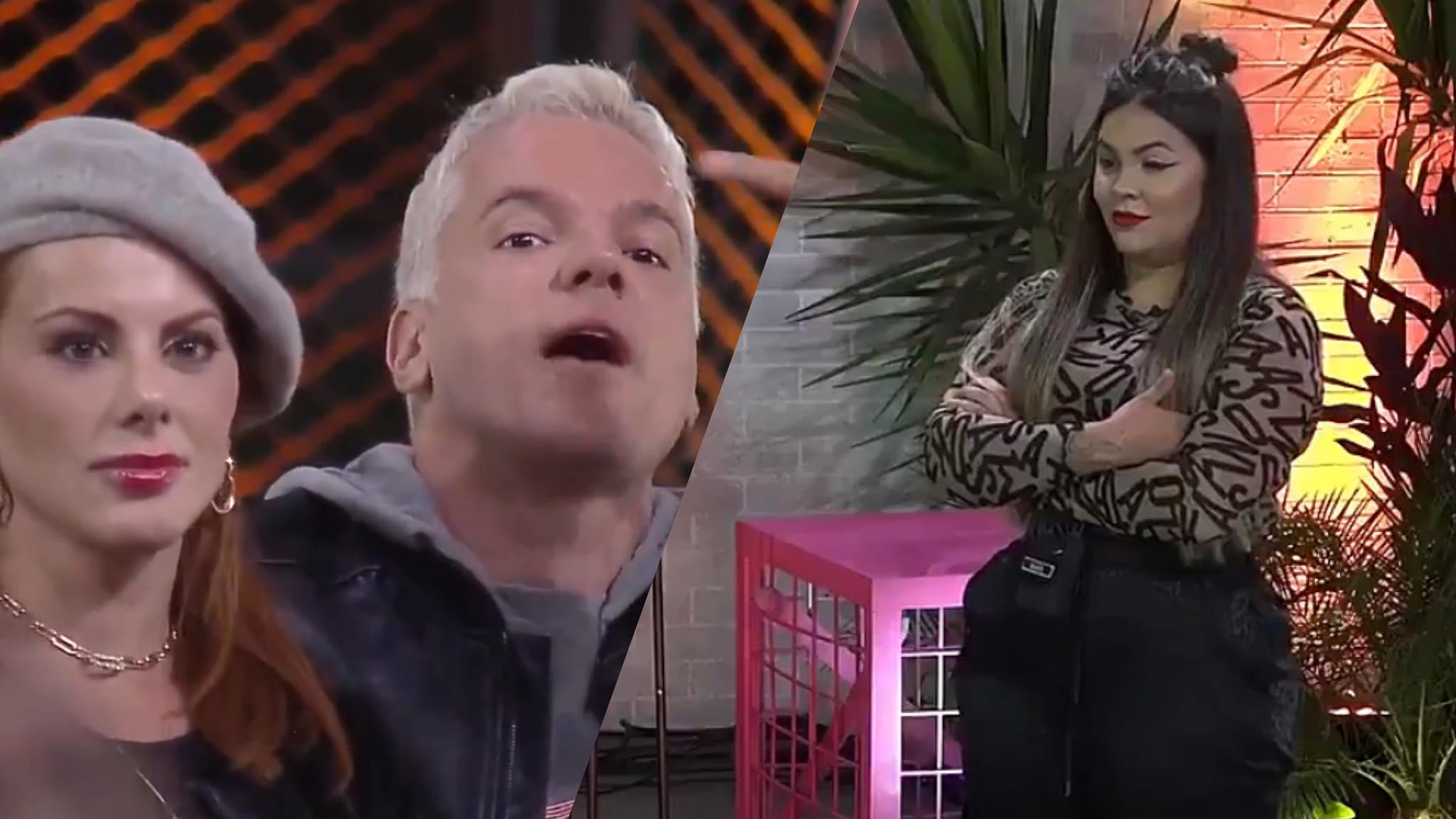 Jogo da Discórdia provoca briga entre Bruno e Debodah com Mari e Matheus (montagem: Fashion Bubbles)