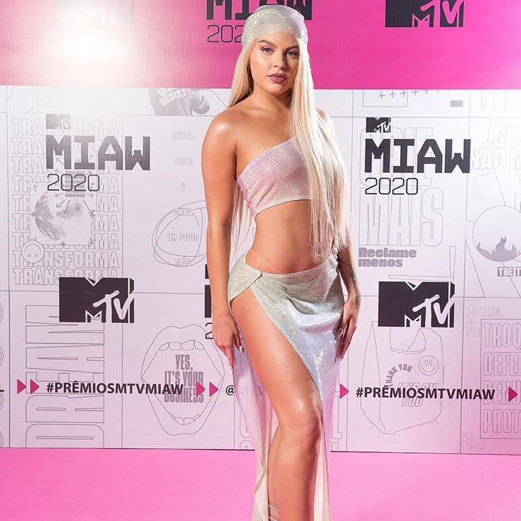 Luísa Sonza no Miaw MTV 2020