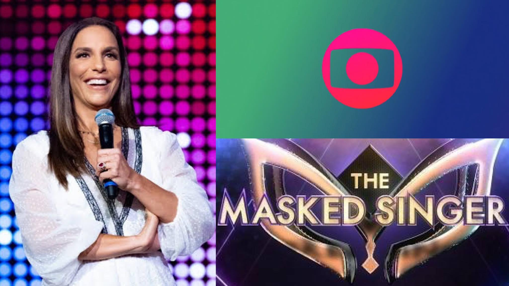 A Globo irá promover do The Masked Singer Brasil em toda sua grade (montagem: Fashion Bubbles)