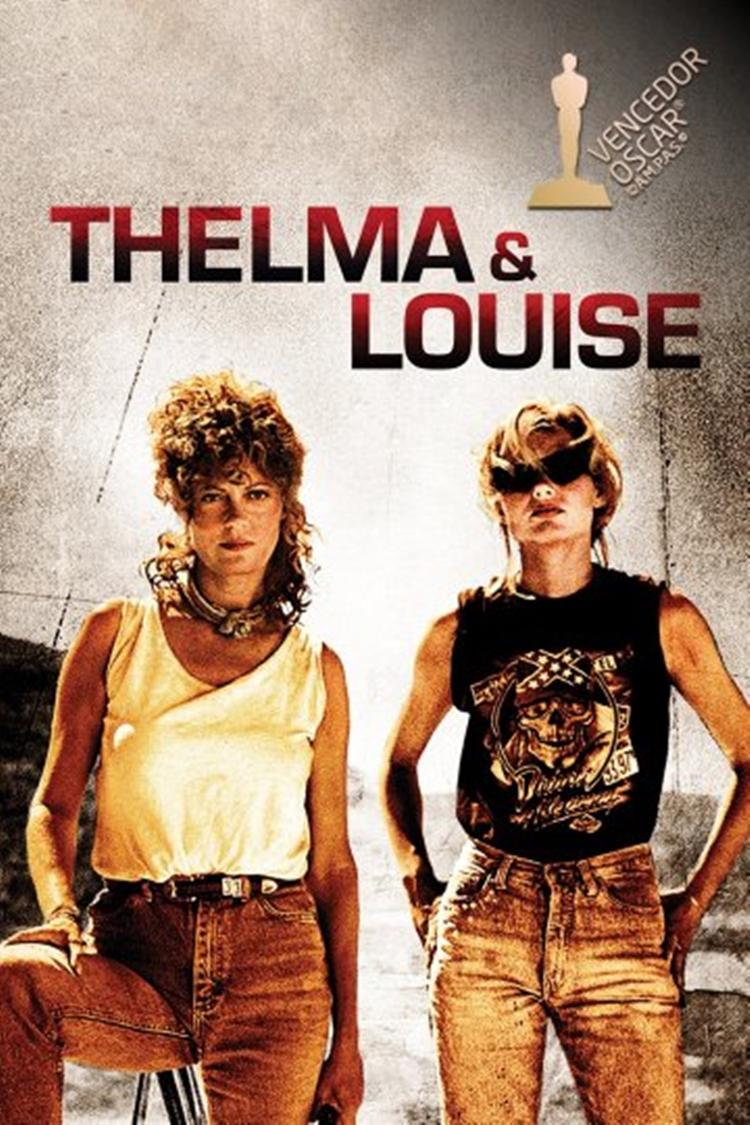 "Foto da capa do filme ""Thelma e Louise"". Filmes de amizade."