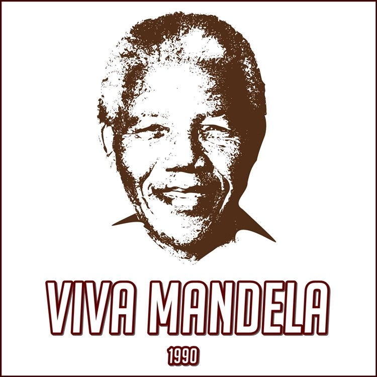 Foto de Nelson Mandela.