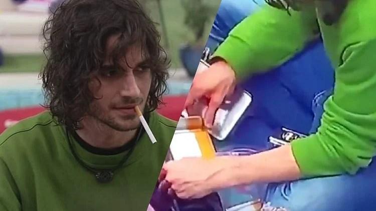 Fiuk viralizou na internet com a sua caixinha de cigarro