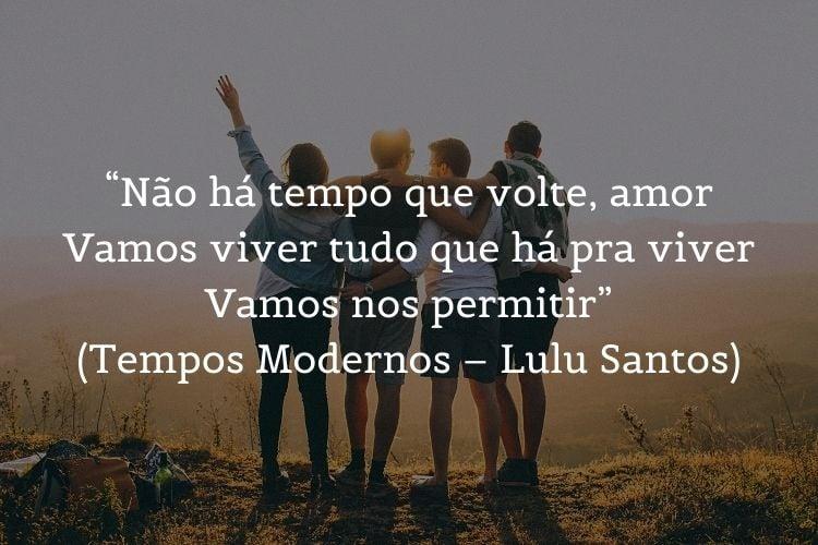 trecho de letra de música de Lulu Santos