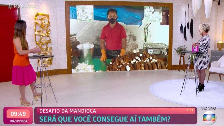 Ana Maria Braga fala de mandioca no Mais Você e entra nos assuntos mais comentados das redes sociais. Fonte: Imagem/Reprodução