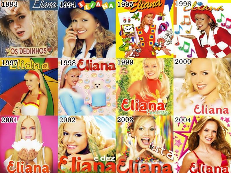 Fotos dos álbuns da Eliana.