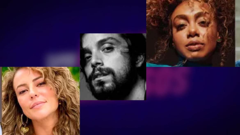 Dandara Mariana, Paolla Oliveira e Rodrigo Simas estão na final do Super Dança dos Famosos. Fonte: Montagem: Fashion Bubbles