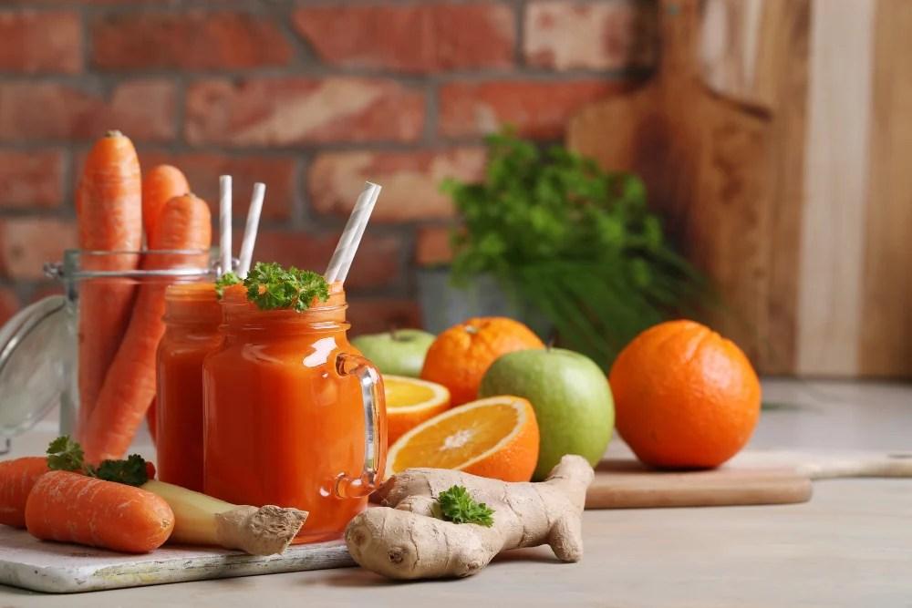 suco de cenoura
