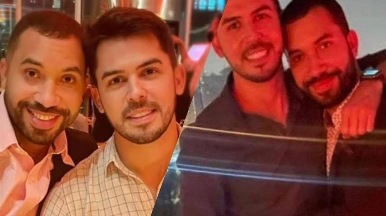 Gil do Vigor surgiu ao lado de Plinio em um badalado restaurante em SP. Fonte: Montagem/ Fashion Bubbles