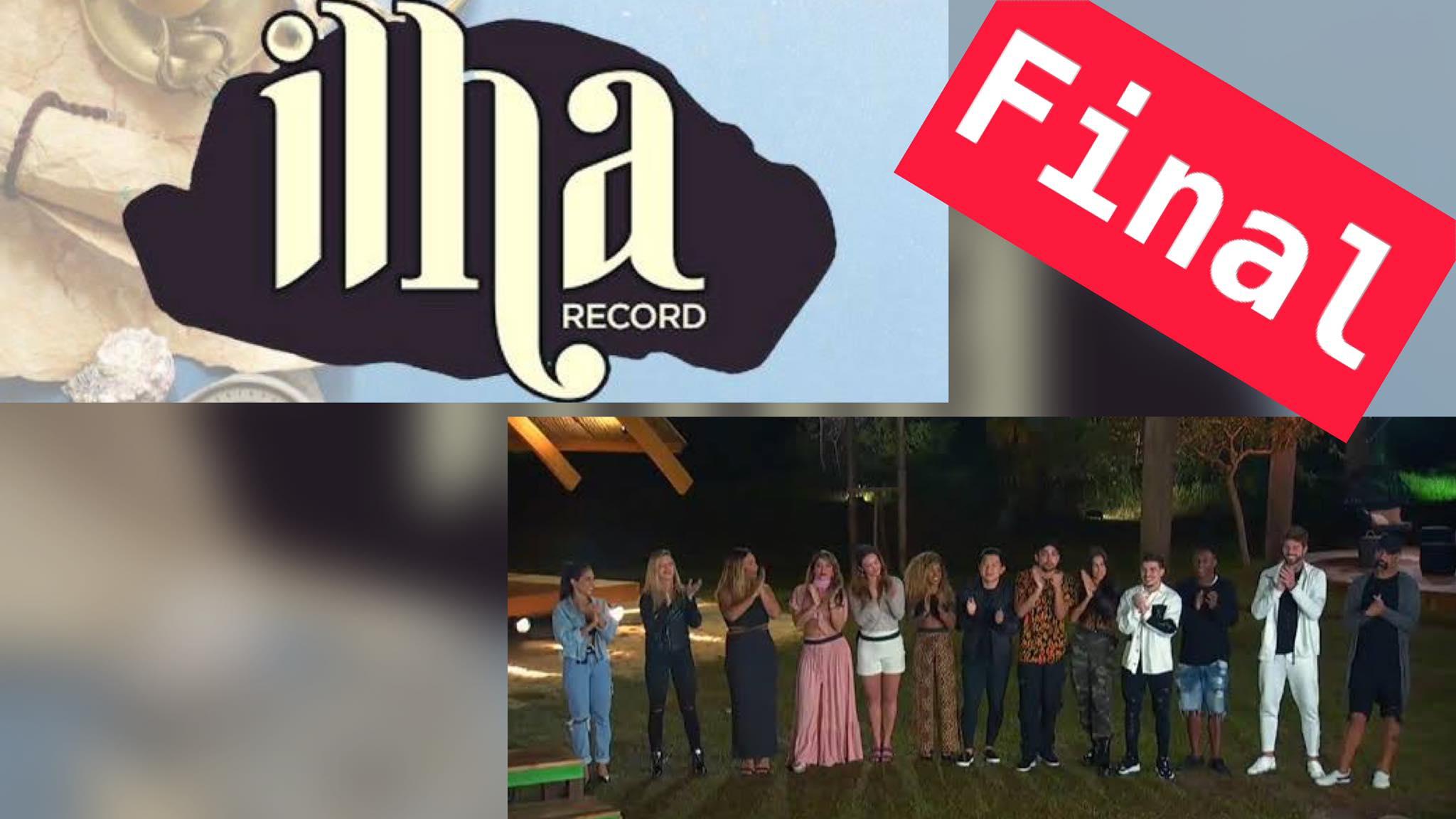 Ilha Record já tem data para sair da grade da Record TV. Fonte: Montagem/ Fashion Bubbles