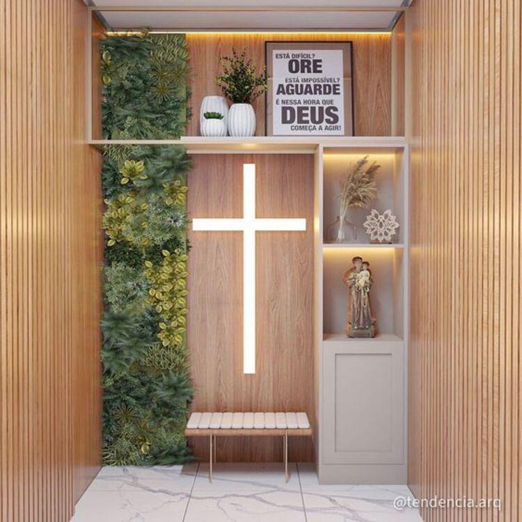 Altar em casa.