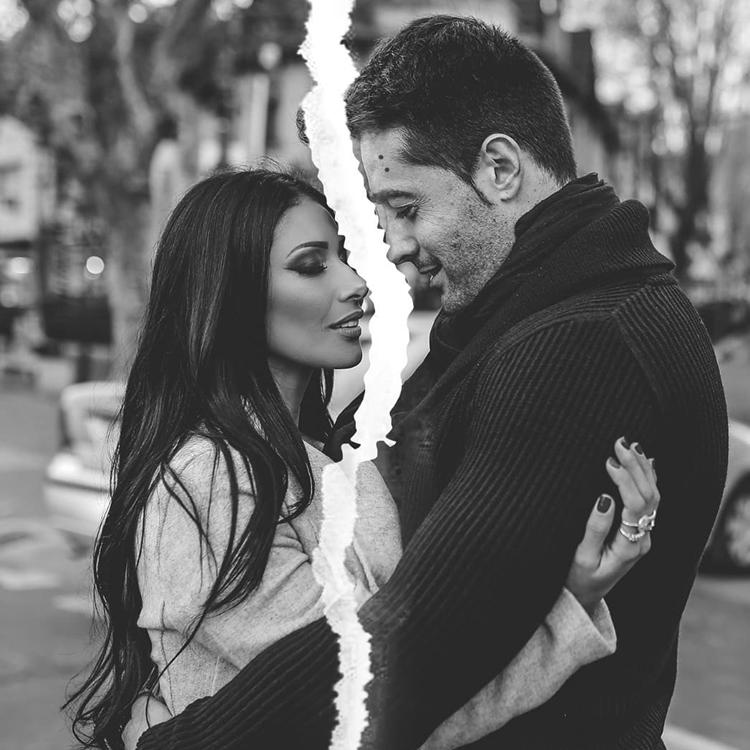 Foto de Simaria Mendes e Vicente Escrig postada no fim do relacionamento.