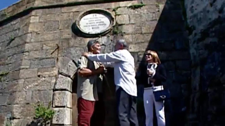 Paulo José e Tarcísio Meira contracenaram em Um Anjo Caiu do Céu, de 2001. Fonte: Imagem: Reprodução