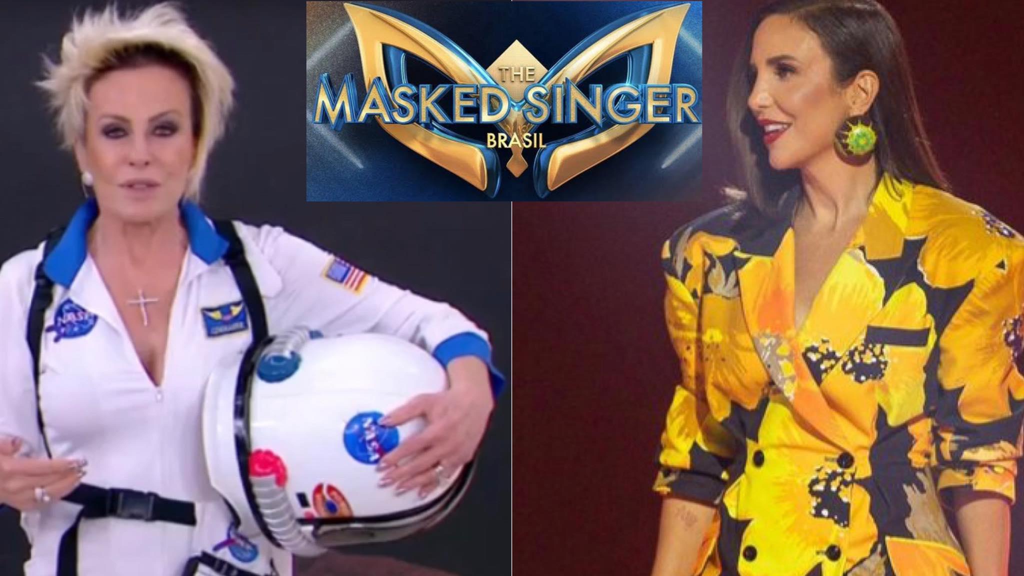 Ana Maria Braga foi convidada para participar do The Masked Singer Brasil, com Ivete Sangalo. Fonte: Montagem/ Fashion Bubbles