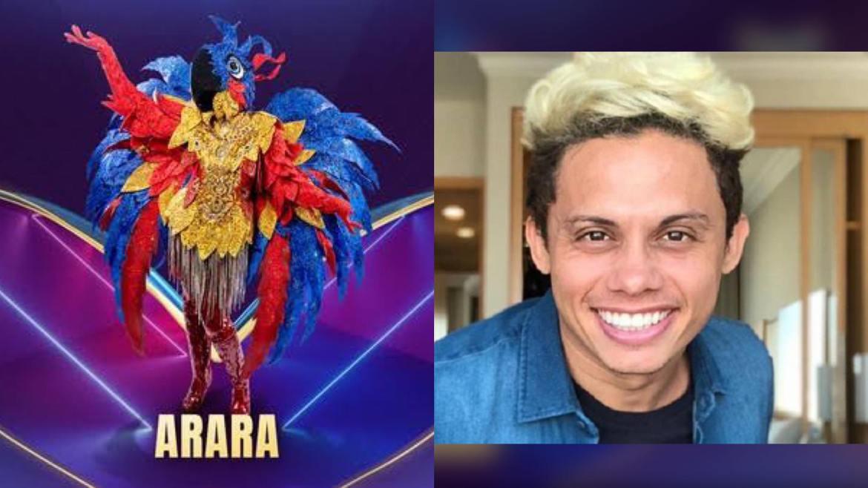 Silverio Pereira pode ser a Arara . Fonte: Montagem: Fashion Bubbles