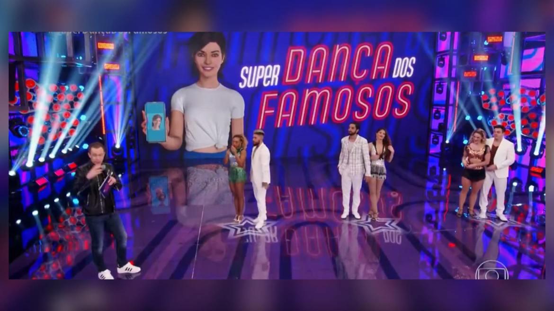 Tiago Leifert agradece equipe do Super Dança dos Famosos na Globo. Fonte: Reprodução/Globo