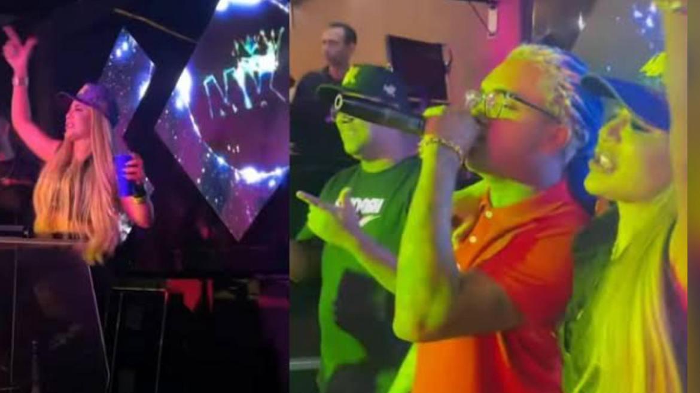 Deolane Bezerra, viúva de MC Kevin esteve em uma balada e cantou a musica do saudoso funkeiro com MC Brinquedo. Fonte: Instagram