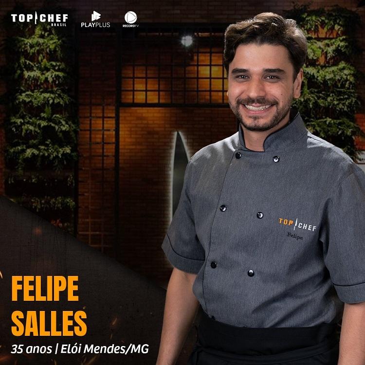 Participante Felipe Salles, participante do Top Chef Brasil