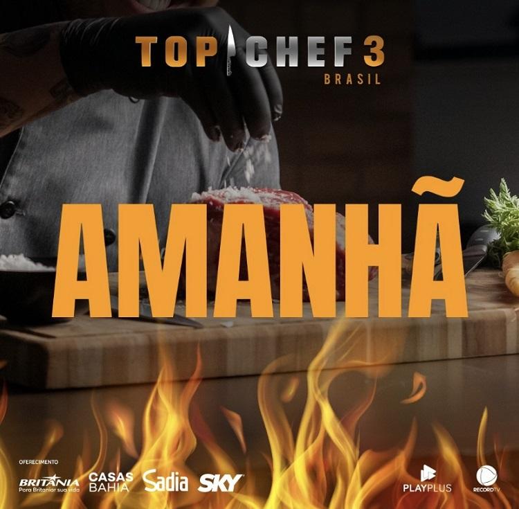 data de estreia do Top Chef Brasil