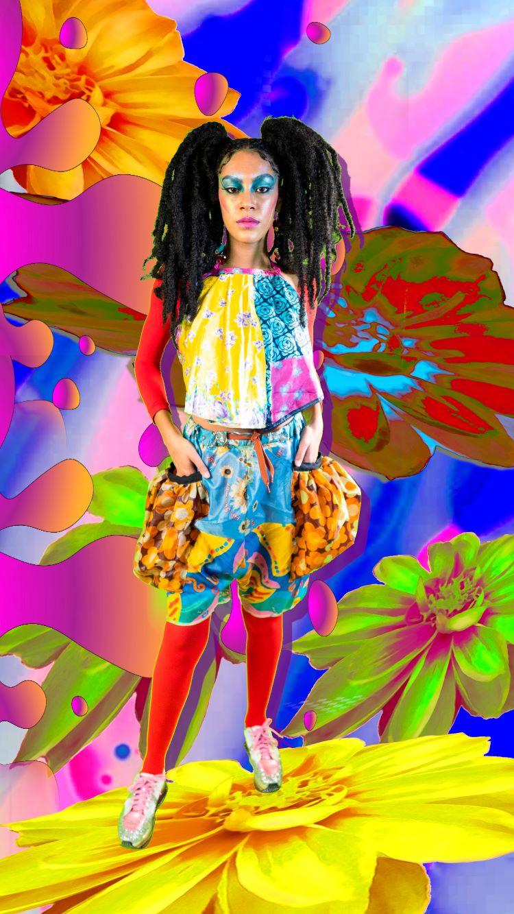Flores Astrais na Brasil Eco Fashion Week