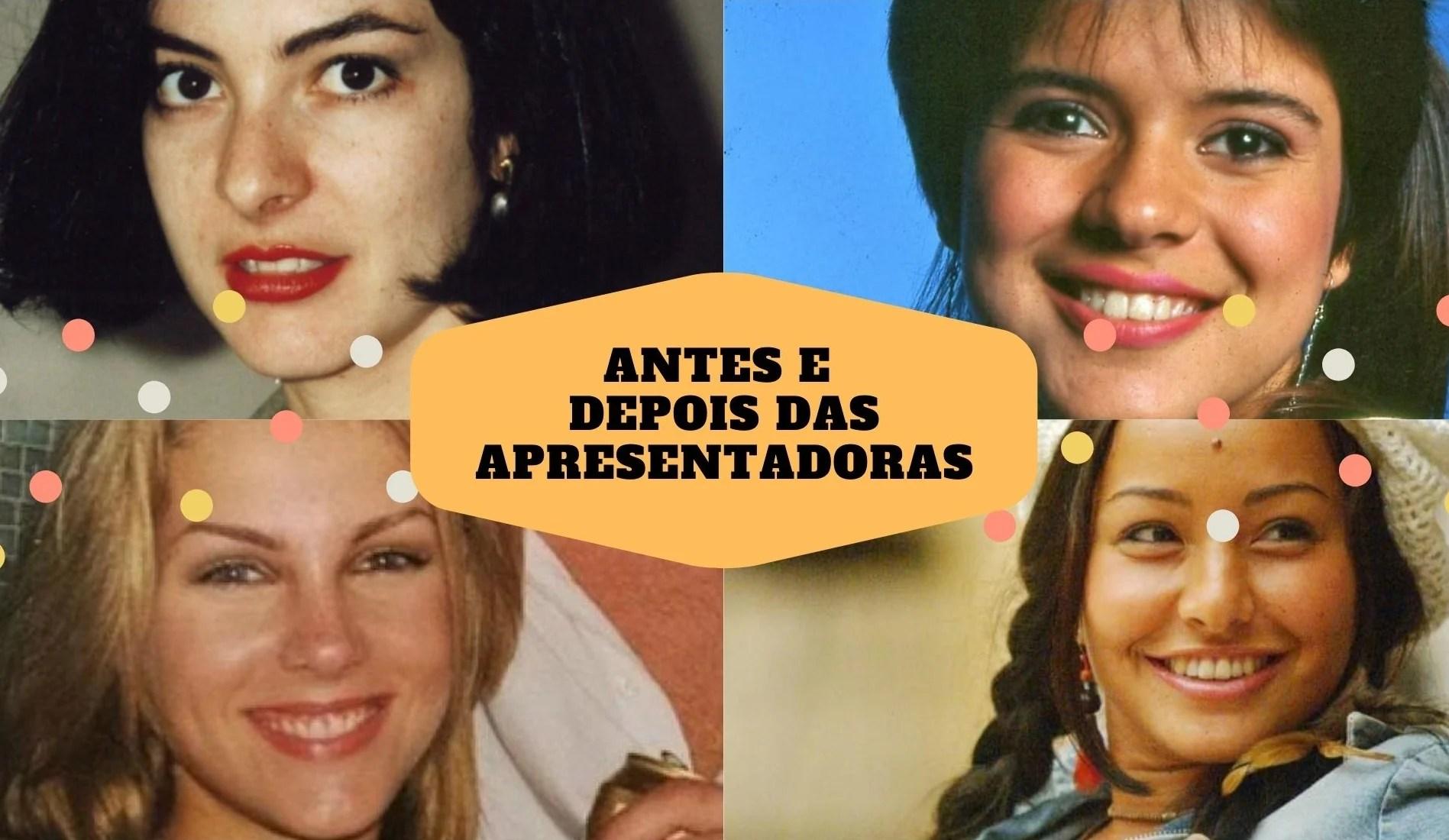 Foto de Ana Paula Padrão, Ana Hickmann, Mara Maravilha e Sabrina Sato.