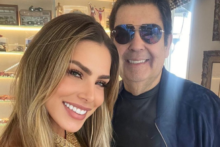 Erika se despediu de Fausto Silva no Instagram