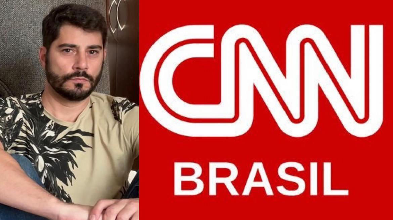 """CNN emite comunicado para falar sobre """"a saída de Evaristo Costa"""" da emissora. Fonte: Instagram"""