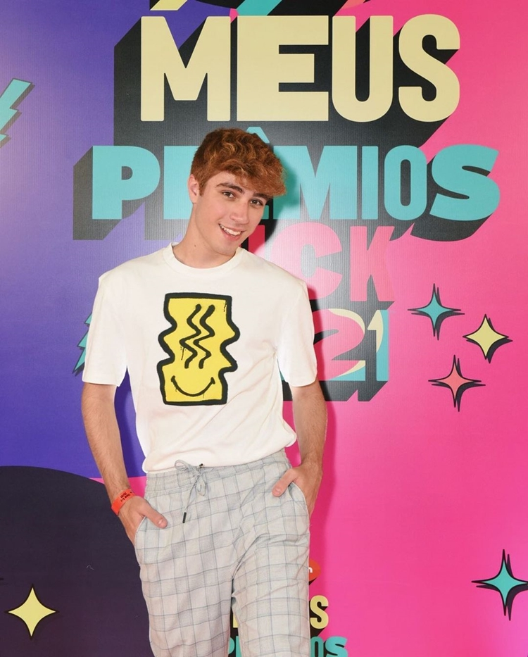 Foto de Felipe Pileggi - Meus Prêmios Nick 2021.
