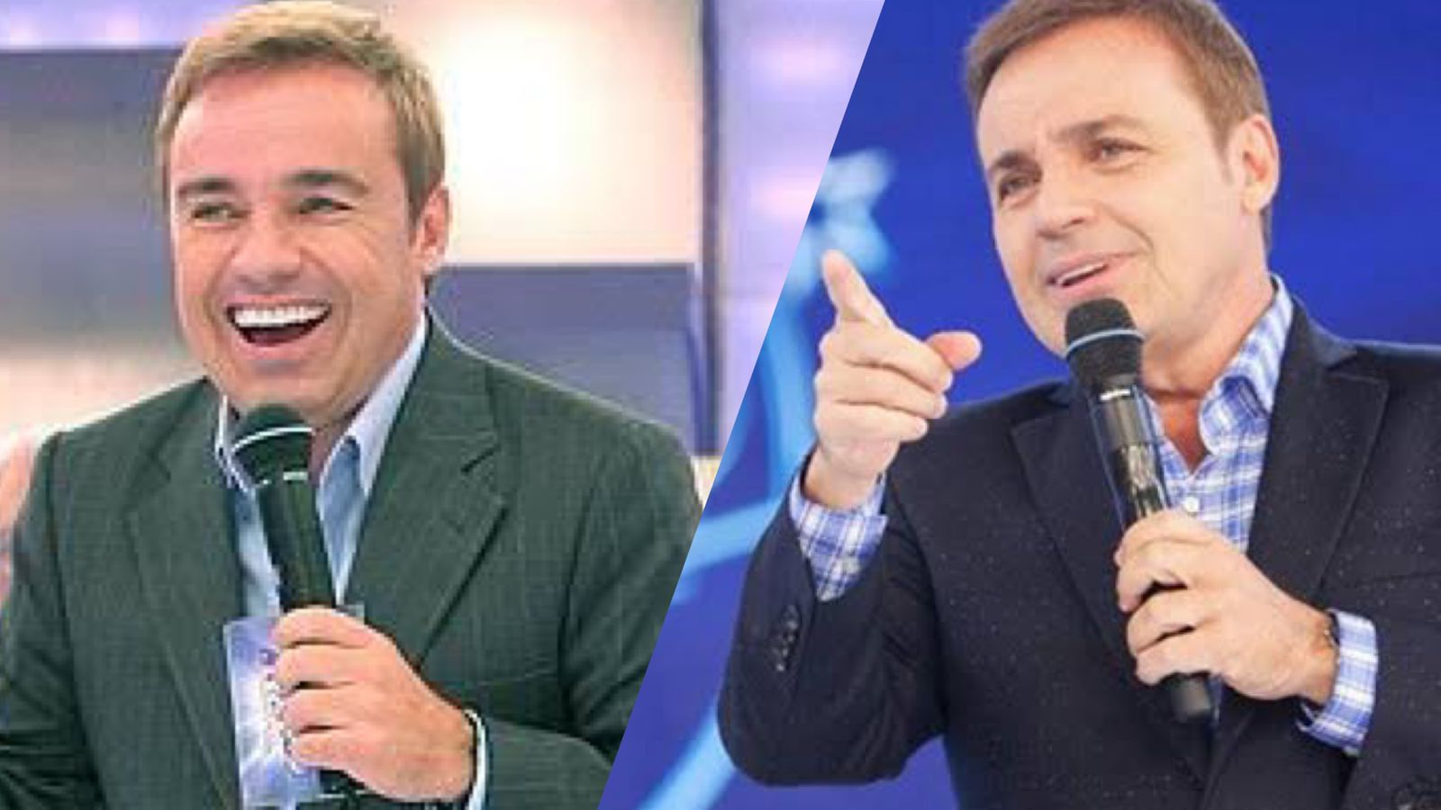 Gugu Liberato e namorado da Globo