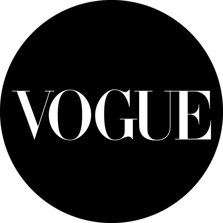 Foto da logo da Vogue.