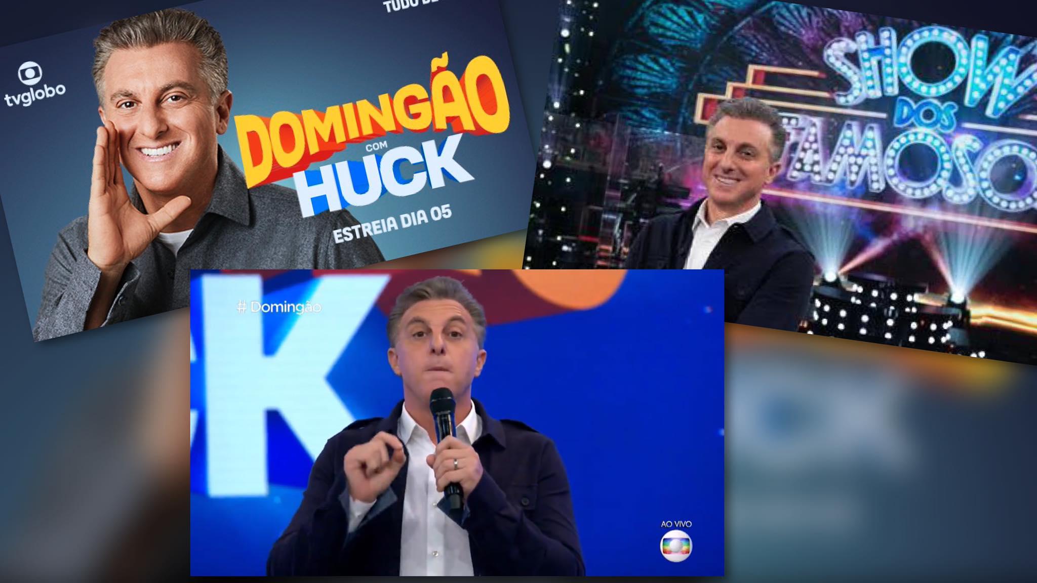 Domingão do Huck estreia com boa audiência, tensão e algumas gafes. Fonte: Twitter