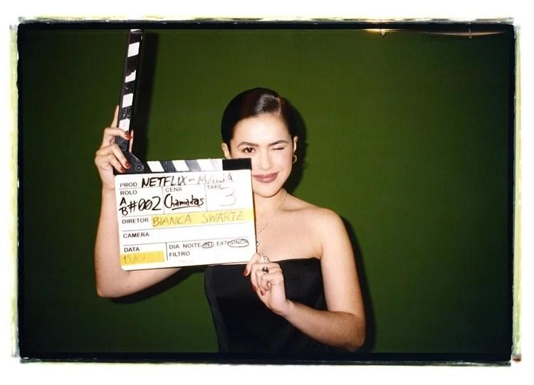 Foto da atriz