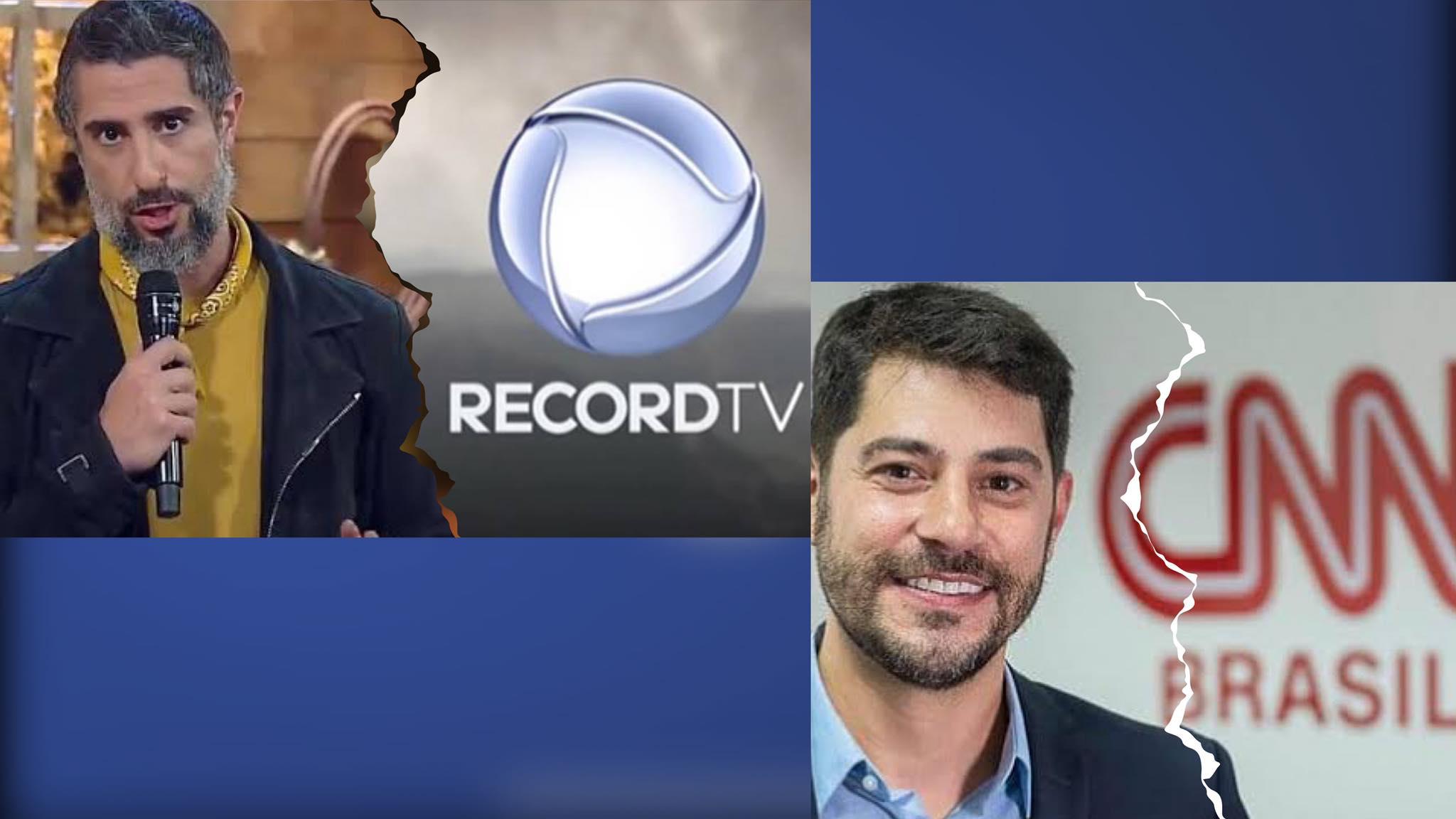 Marcos Mion se solidariza com Evaristo Costa após jornalista ser dispensado da CNN por telefone. Fonte: Redes sociais.