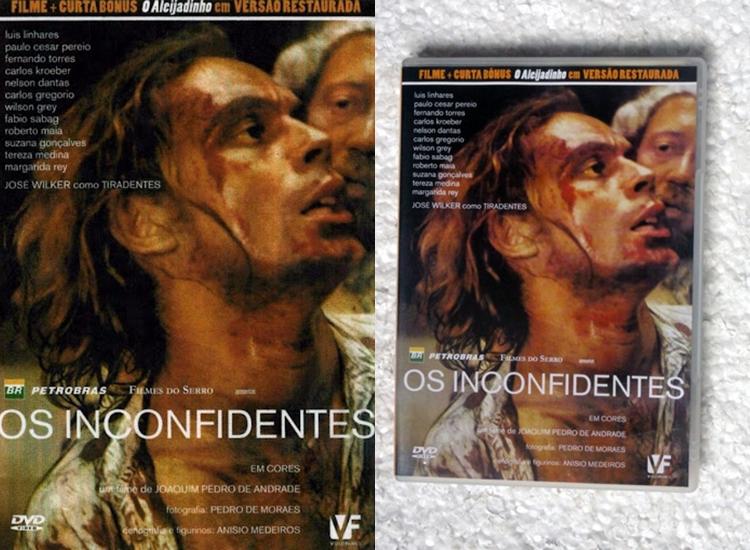 """Foto da capa do filme """"Os Inconfidentes""""."""