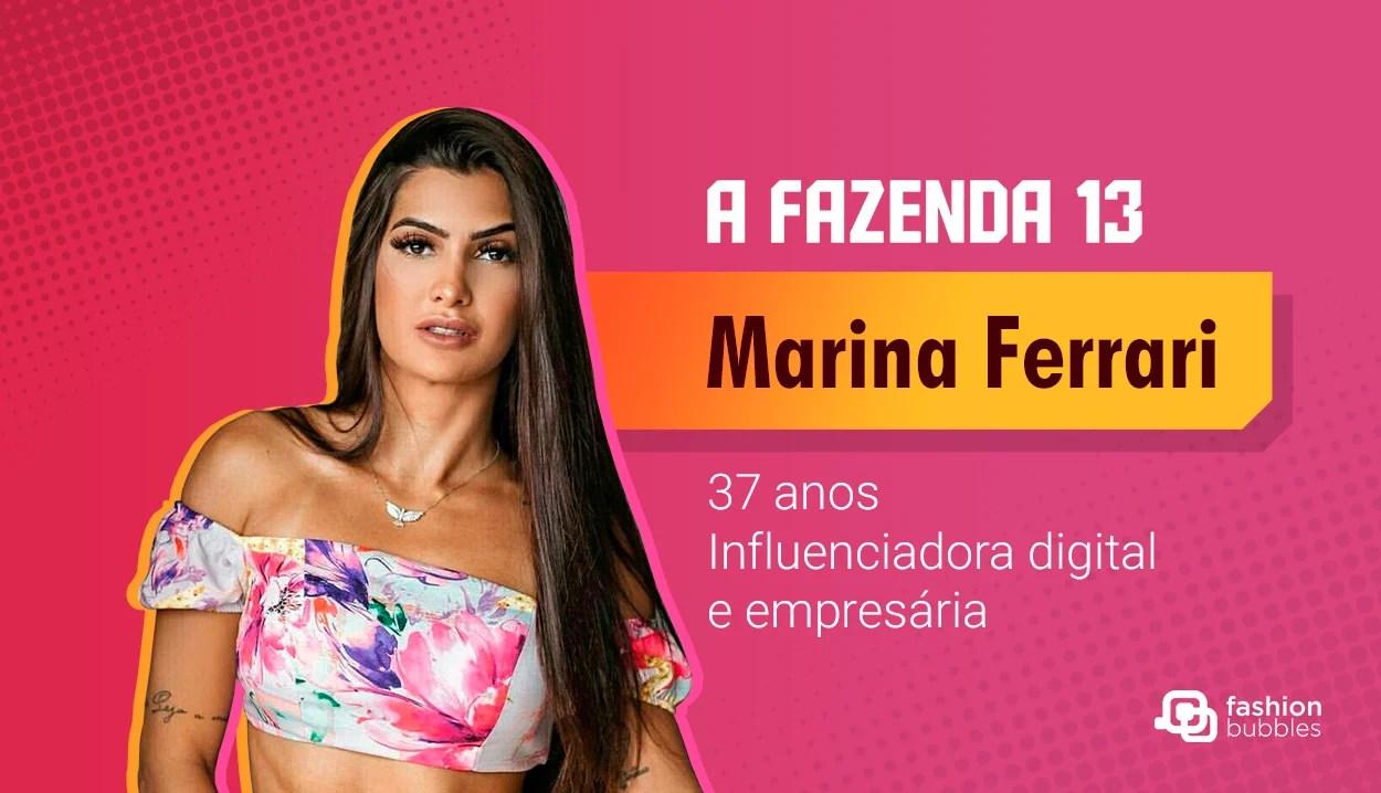 Marina Ferrari - A Fazenda 13