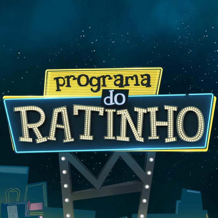 Foto da logo do Programa do Ratinho.