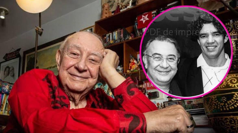 Sérgio Mamberti teve um casamento de 37 anos com Ednaldo Torquato, que faleceu em 2019. Fonte: Reprodução/ Internet