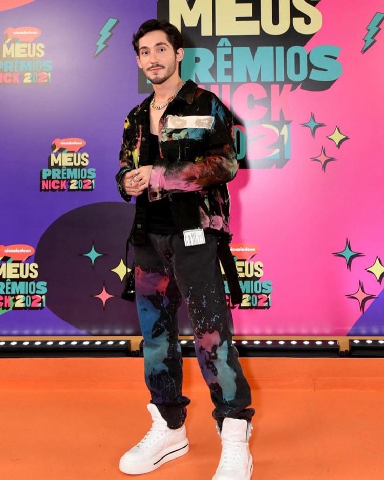 Foto de Vittor Fernando - Meus Prêmios Nick 2021.
