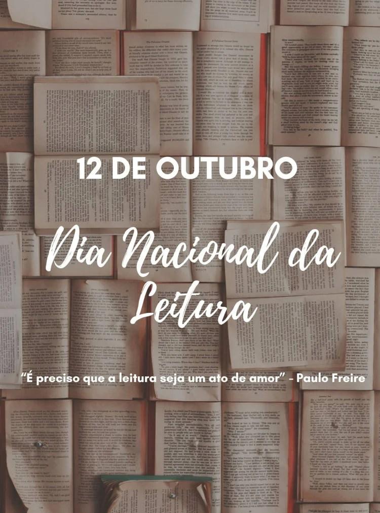12 de outubro Dia Nacional da Leitura