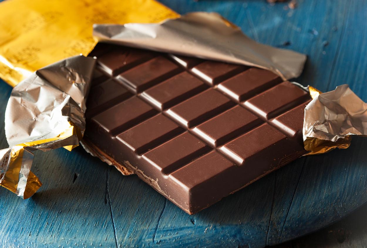 Chocolate amargo.