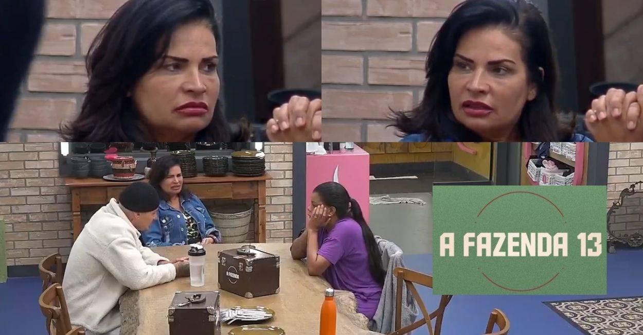 Solange Gomes critica Lary Bottino