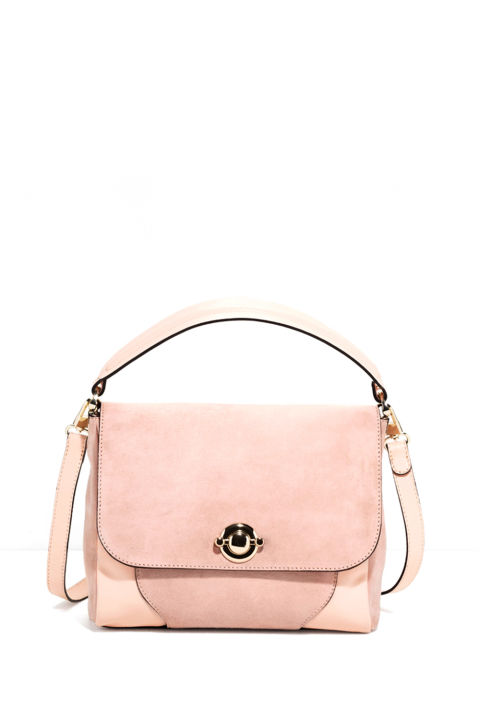 acddb643ef34 This is a beautiful cheap designer pale pink handbag for girls and ladies.  It is perfect for work and parties as well.