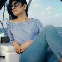 Sanam Baloch as model girl