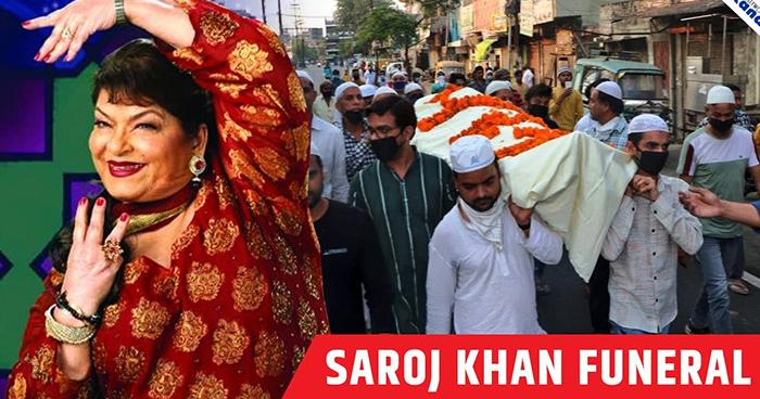 Photo of Bollywood Choreographer Saroj Khan Dies At 71