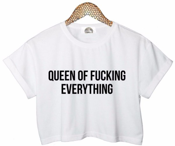 T-Shirt Queen Of F*cking Everything | Wendy – Red Velvet