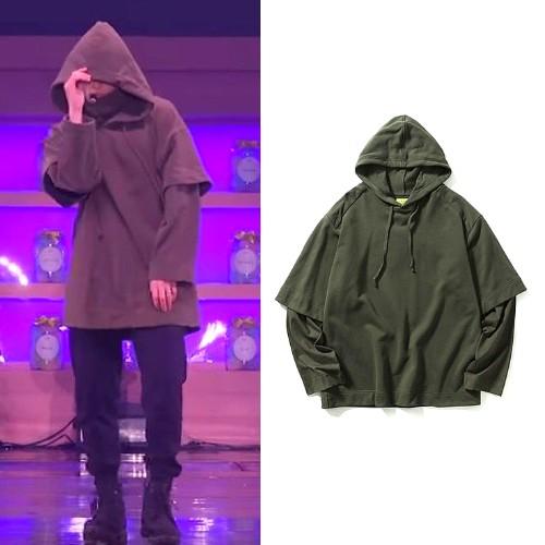 Khaki Hoodie   Jungkook – BTS