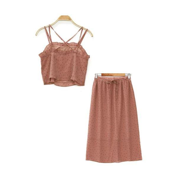 Rose Skirt and Top Set | Sana – Twice