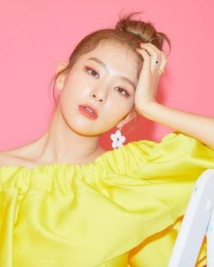 Yellow Bardot Top | Seulgi – Red Velvet