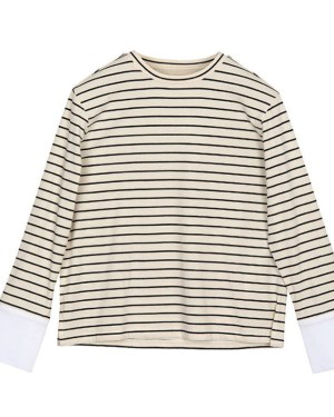 ID Gangnam Beauty Fashion Striped Sweater