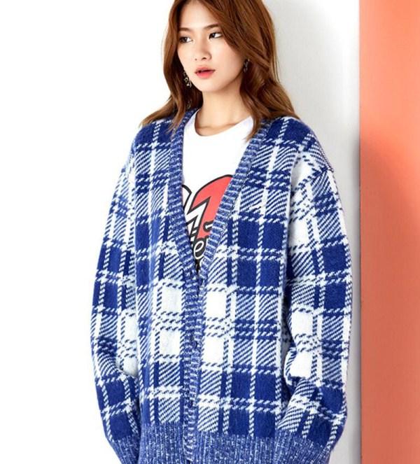 Blue Cardigan | Kim Bok Joo – Weightlifting Fairy Kim Bok Joo