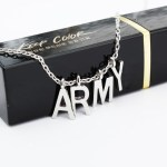 "ChimChim ""ARMY"" Necklace